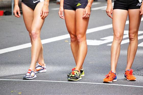 Как похудеть в ногах при беге