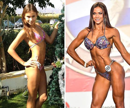 Алена Ярован, фитнес-бикини, фото до и после