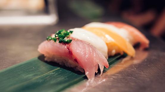 Рыба и морепродукты в японской кухне