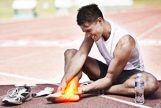 Боли в ноге при беге