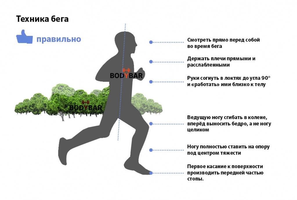 Техника правильного бега для похудения для