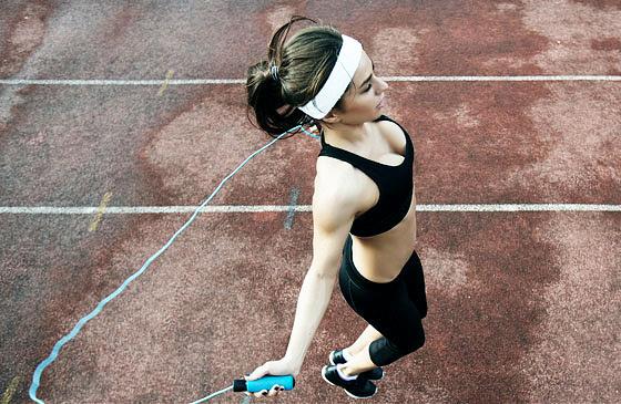 Прыжки со скакалкой: техника прыжка